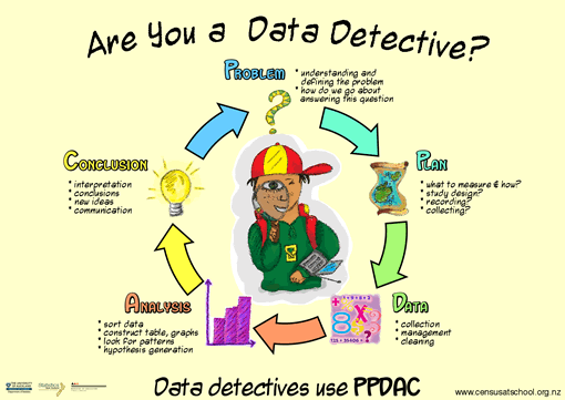 The data detective poster